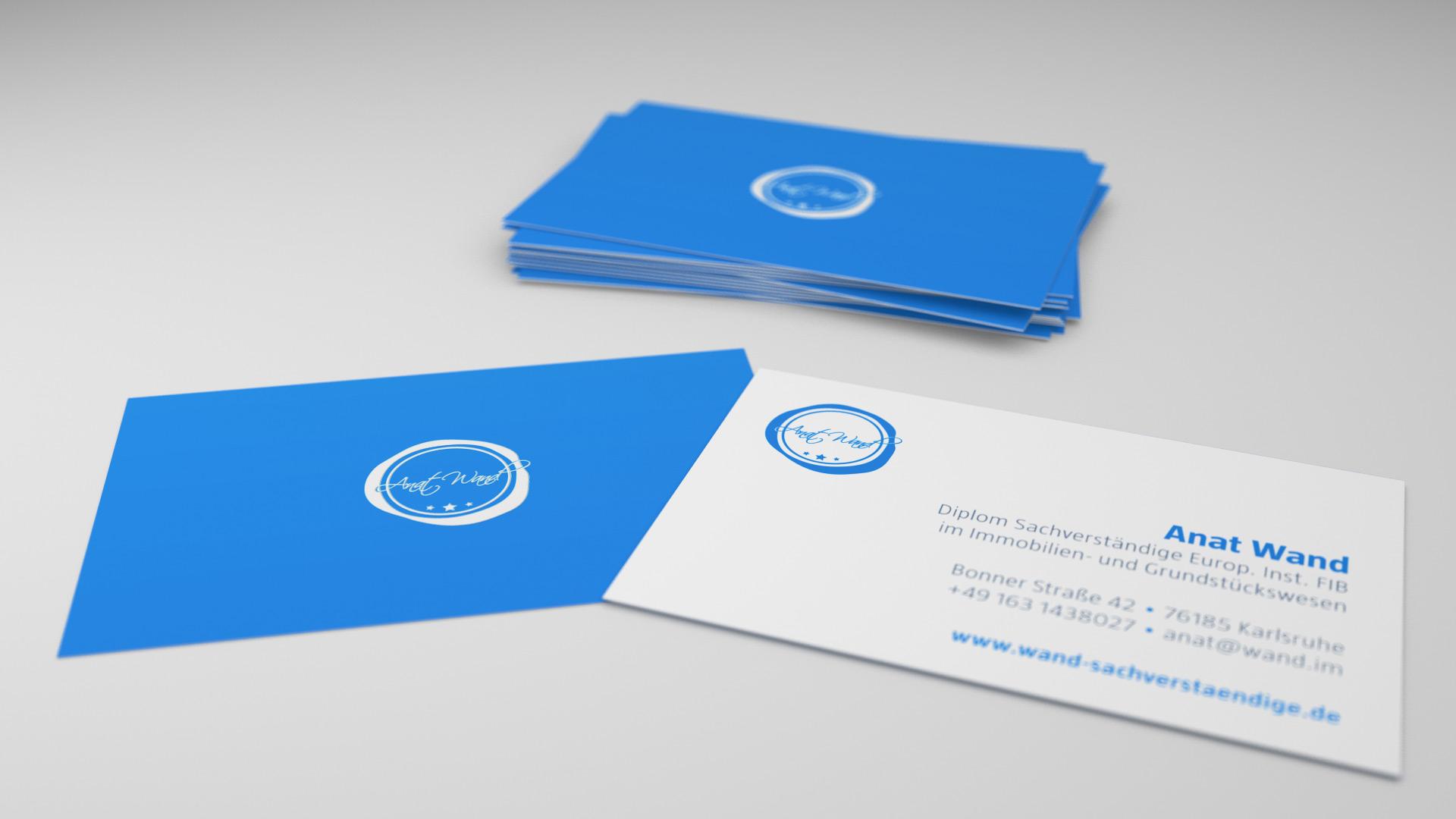 Strategy Logo Visitenkarten Briefpapier Flyer Im